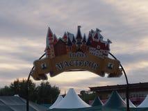 Feria colorida festiva Imagen de archivo libre de regalías