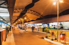 Feria conocida como Feira Central De Campo Grande imágenes de archivo libres de regalías