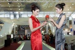 Feria cultural en China - de cerámica chino Imagenes de archivo