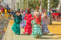 Feria de Abril Stockbild