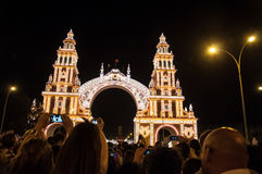 Feria de Abril Photos stock