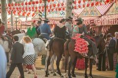 Feria de Abril Lizenzfreie Stockbilder