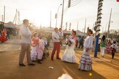 Feria de Abril Photographie stock libre de droits