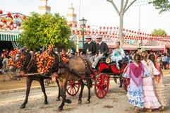 Feria de Abril Royalty Free Stock Images