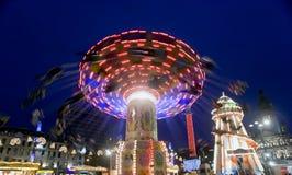 Feria de diversión Fotografía de archivo libre de regalías