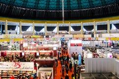 Feria de libro de Gaudeamus, Bucarest, Rumania 2014 Imágenes de archivo libres de regalías