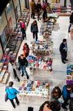 Feria de libro de Gaudeamus, Bucarest, Rumania 2014 Foto de archivo