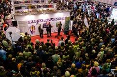 Feria de libro de Gaudeamus, Bucarest, Rumania 2014 Imagen de archivo
