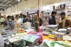 Feria de libro en Kolkata. Fotos de archivo libres de regalías