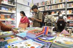 Feria de libro en Kolkata. Fotografía de archivo