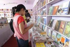 Feria de libro en Kolkata. Imagenes de archivo