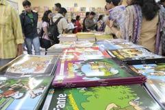 Feria de libro en Kolkata. Imágenes de archivo libres de regalías
