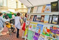 Feria de libro internacional de Lviv Fotos de archivo libres de regalías