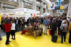 Feria de libro internacional (Salone del Libro) Turín Foto de archivo