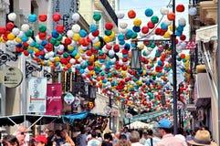 Feria de Pedro Romero Ronda - Spanien royaltyfri fotografi
