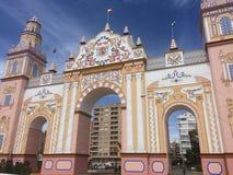 Feria de Sevilla Imagen de archivo libre de regalías