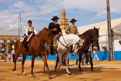 Feria di Cordova, 2011 Immagini Stock Libere da Diritti