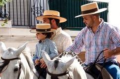 Feria en San Pedro de Alcantara, Marbella Photos stock