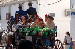 Feria en San Pedro de Alcantara, Marbella Images libres de droits