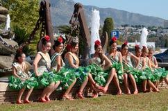 Feria en San Pedro de Alcantara, Marbella Image stock