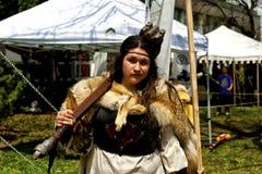 Feria medieval 2014 de Montreal Imagen de archivo libre de regalías