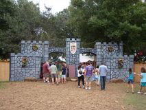 Feria medieval de Sarasota Imágenes de archivo libres de regalías