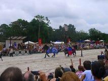 Feria medieval de Sarasota Fotografía de archivo