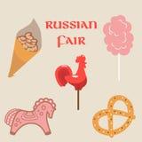 Feria rusa libre illustration