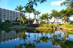 Feriado bonito na ilha de Saipan Fotos de Stock Royalty Free