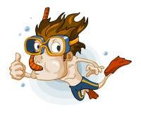 Feriado com mergulho autónomo Imagem de Stock