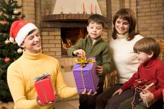 Feriado da família Fotografia de Stock Royalty Free
