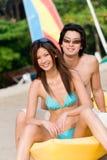 Feriado da praia fotos de stock royalty free