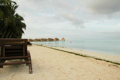 Feriado de Maldives Fotografia de Stock Royalty Free