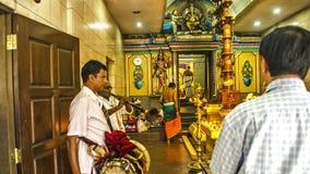 Feriado de Thaipusam - feriado indiano Fotografia de Stock