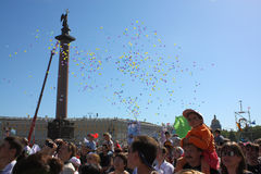 Feriado - dia de St Petersburg Fotografia de Stock