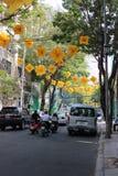 Feriado em Ho Chi Minh City Foto de Stock Royalty Free