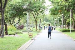 Feriado em park2 Foto de Stock Royalty Free