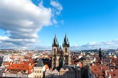 Feriado em Praga Imagens de Stock