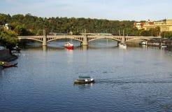 Feriado em Praha foto de stock royalty free
