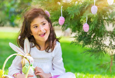 Feriado feliz da Páscoa Fotografia de Stock Royalty Free