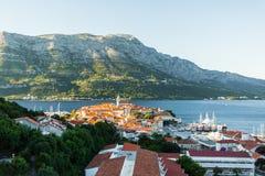 Feriado na Croácia bonita, Europa imagem de stock