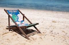 Feriado na praia Imagens de Stock