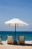 Feriado na praia Imagens de Stock Royalty Free