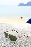 Feriado na praia ilustração stock