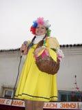 Feriado popular Maslenitsa do russo na região de Kaluga Foto de Stock Royalty Free