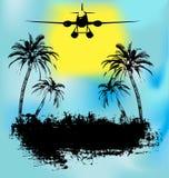 Feriado tropical do console ilustração do vetor