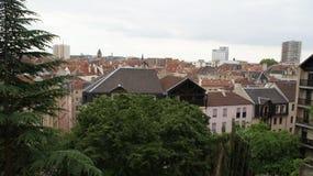 Feriados cidade em França, Metz Foto de Stock