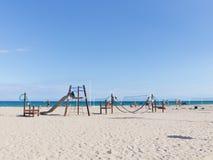 Feriados da praia em Alicante, Costa Blanca Imagem de Stock Royalty Free
