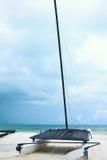 Feriados do barco de mar Imagem de Stock