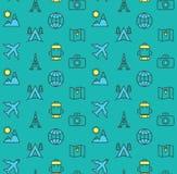 Feriados e ícones do curso ajustados Foto de Stock Royalty Free